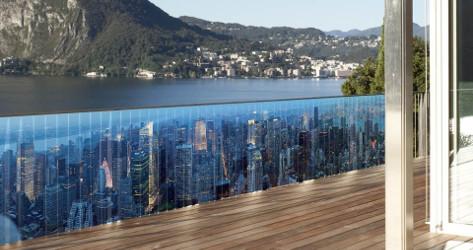 voyager de votre balcon avec les brises vues en toile. Black Bedroom Furniture Sets. Home Design Ideas
