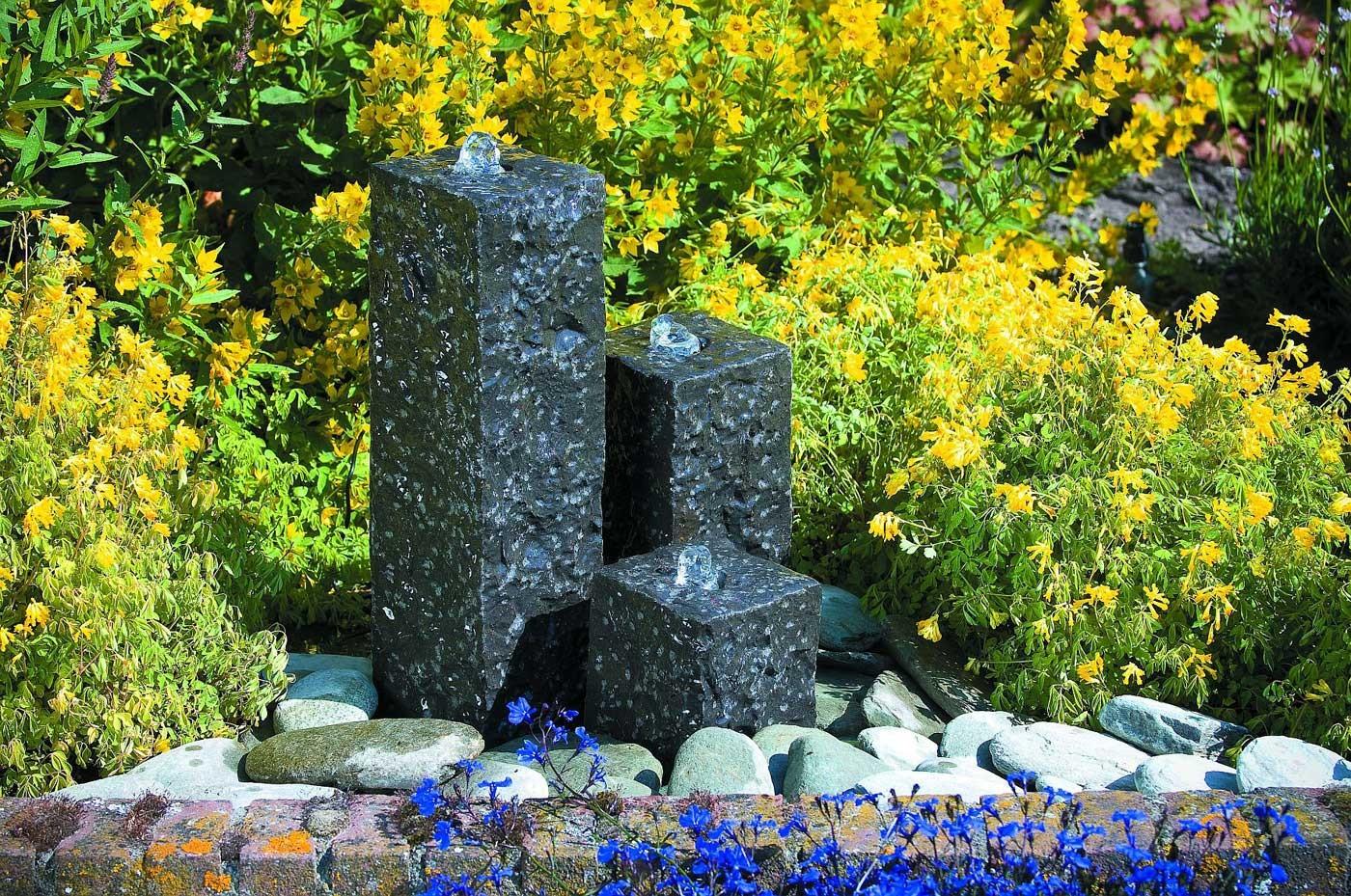 cascade en granit