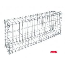 Gabion à Tiges Cage Métallique 100 x 20 x 40 cm