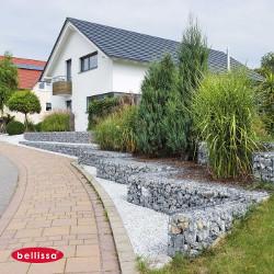 aménagement des jardins avec les gabions
