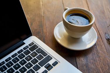 café au bureau