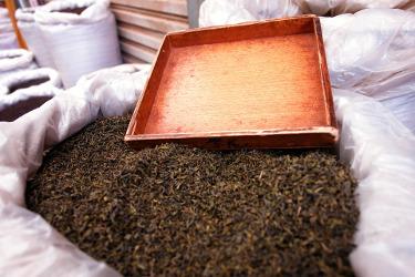 thé noir en vrac