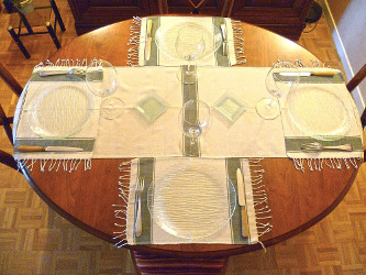sets de table en coton