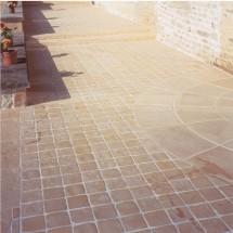pavés en pierre reconstituée
