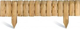 Bordures en bois planter rapide et efficace - Bordure jardin bois brico ...