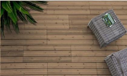 Am nager un balcon avec une dalle en bois for Dalle de terrasse en bois 1mx1m